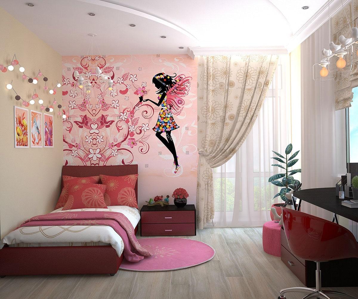 La décoration murale des chambres